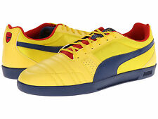 Puma Arsenal Paulista Novo IT Indoor CASUAL/TRAINING SOCCER SHOES Yellow / Navy