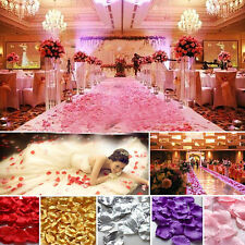 Best 144X Non-woven Rose Flower Petals  Wedding Party Table Confetti Decorations