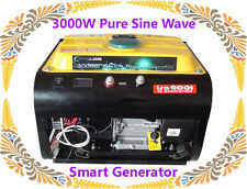 3000W Pure Sine Wave Smart Generator 12V,24V,48V DC Output For Power Inverter