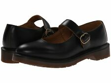 Women's Shoes Dr. Martens Indica Leather Mary Jane Flats 16510001 Black *New*
