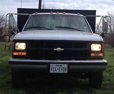 1999 Chevrolet 3500 Landscape Truck Dovetail Body with Mower Ramp