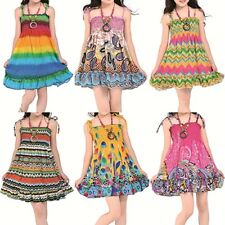 New Hot Cute Baby Girls Princess Summer Beach Holiday Ethnic Style Casual Dress