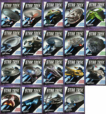 STAR TREK EAGLEMOSS MAGAZINES ONLY ISSUES 1 - 45 & SPECIALS COLLECTION LOT