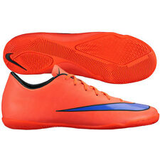 Nike Mercurial Victory IV IC Indoor Soccer SHOES 2015 Brand New Orange / Purple