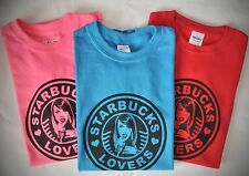 Starbucks Lovers Unisex Adult T-Shirts S-XL