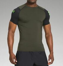 Under Armour Men's UA Tough Mudder Obstacle Compression Short Sleeve Shirt NWT