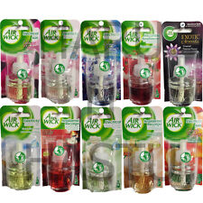 6 X AIRWICK AIR WICK PLUG IN REFILLS P SIZE FRESHENER HOME SCENT FRAGRANCE