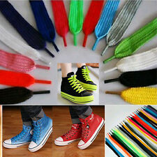 1Pair Flat Athletic Shoe Laces Shoelace Bootlaces Strings For Sneakers Boot