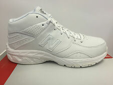 MENS NEW BALANCE BB581WT WHITE LEATHER BASKETBALL ATHLETIC SNEAKERS