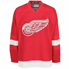Detroit Red Wings Reebok EDGE Authentic Home NHL Hockey Jersey (Made in Canada)