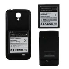 Samsung Galaxy S4 IV i9500 I9505 Extended Battery B600BU New B600BC Wall Charger