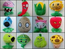 Plants vs Zombies 1 Figures Plush Baby Staff Toy Stuffed Soft Doll