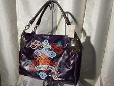 Luxfusion Tattoo Inspired Purse True Love Forever Desire Peace Skull Heart Rose