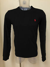 Polo Ralph Lauren Crew Neck Men's Long Sleeve Custom Fit T-Shirt