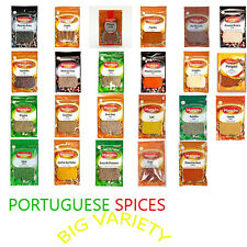 COOKING PORTUGUESE SPICES AND AROMATIC HERBS BIG VARIETY OF PRODUCTS