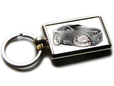 BMW 7 SERIES Koolart Quality Chrome Keyring Picture Both Sides Choose a Colour!