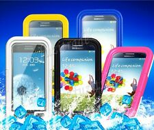 Waterproof Anti-Shock Touch Case Hard Cover For Samsung Galaxy S4 i9500/GT-i9505