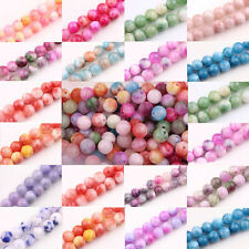 Glass Persia Jade Round Loose Spacer Beads Crafts Charms Mixed 6mm 8mm 10mm DIY