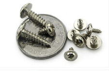 50pcs x stainless steel Self Tapping Screws Pozi Pan Head with Gasket M3
