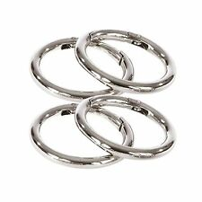Miche 1 1/2 Inch (1.5) Silver Purse Carabiners  Lot - Any Quantity