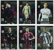 ADRENALYN UEFA CHAMPIONS LEAGUE UPDATE EDITION 2015 PICK CARD LIMITED UCL NEW
