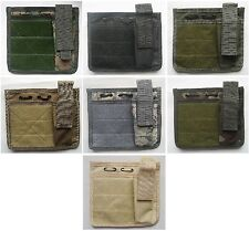 New Airsoft Molle Commanders Admin Panel Map Pouch MTP Molle Patch