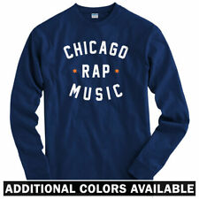 Chicago Rap Music Long Sleeve T-shirt - Twista Chief Keef Chi - LS - Men / Youth