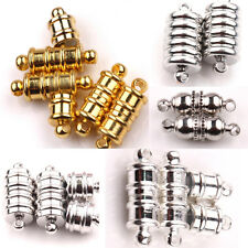 5/10Sets Hot Fashion Oval Strong Magnetic Clasps Jewelry Makings DIY 5 Size