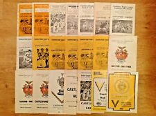 Castleford Rugby League Programmes 1959 - 1997