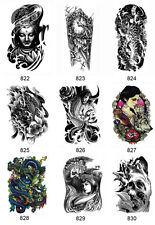 New Arm Leg 3D Waterproof Temporary Tattoo Body Art Sticker Stickers Removable C