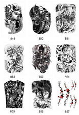 New Arm Leg 3D Waterproof Temporary Tattoo Body Art Sticker Stickers Removable F