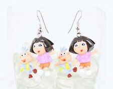 Dora The Explorer with Boots *Earrings* Plastic Nickolodeon