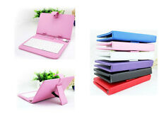 "10"" universal PU Leather USB/micro Keyboard Stand Case cover for Android Tablet"