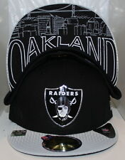 Oakland Raiders 2015 New Era 59Fifty Fitted Draft Hat