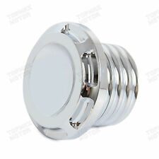 Chrome CNC Fuel Gas Cap Fits 96-14 15 Harley Dyna Softail Sportster Touring