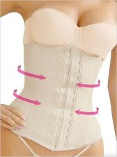 CLASSIC WAIST CINCHER, WORKOUT, GYM, DEPORTIVA COLOMBIAN, BEIGE LATEX