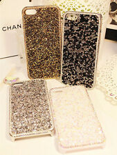 NEW LUXURY SPARKLE CRYSTAL DIAMOND BLING CASE APPLE MOBILE PHONE IPHONE 44S 5 5S