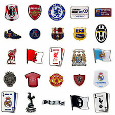 FOOTBALL SOCCER CLUB TEAM FC PIN BADGE BUTTON ENAMEL METAL OFFICIAL LICENSED NEW