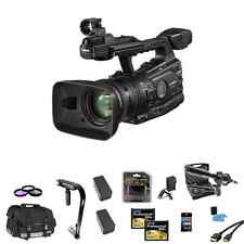 Canon XF300 HD Pro Camcorder Kit Pro Microphone Extra Batteries 32GB LEXAR CF