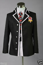 Ao No Exorcist Blue Exorcist Okumura Rin Cosplay Costume Jacket + FREE Tie