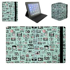 Camera Obsession Tablet Flip Case for Apple iPad Air Mini, Kindle Fire, Samsung