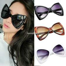 Retro Big Lens Oversized Round Bowknot Frame Sunglasses Shield UV400 Eyewear SH
