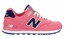 New Balance WL574POP Classic 574 Polo Pack Pink/Navy Athletic Shoes Women's Size