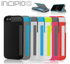 Incipio® iPhone 5S Case, Stowaway Credit Card ID Kickstand Authentic Hard Cover