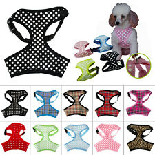 Breathable Mesh Padded Puppy Pet Dog Harness Vest for Chihuahua Poodle Yorkie
