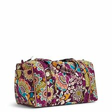 Vera Bradley Large Duffel Carry On Travel Tote Bag-NWT-MultiColors-$85 SALE