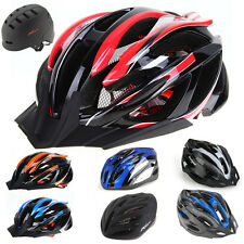 MTB Road Bike Bicycle Sports Racing Cycling Safety Helmet with Visor Adjustable