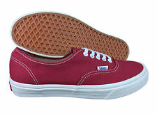 VANS. Authentic. Tibetan Red / White. Unisex Shoe. Mens US Size. 10, 12, 13.