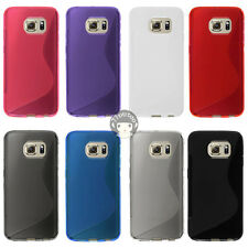 TPU Case For Samsung Galaxy S6 edge G925T (T-Mobile) -  Line Gel Soft Skin Cover