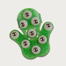 Quality Palm Shaped 9 Piece Steel Ball Roller Full Body Slimming Massager